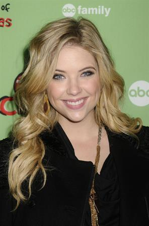Ashley Benson ABC Family 25 days of Christmas Winter Wonderland Event on December 4, 2011