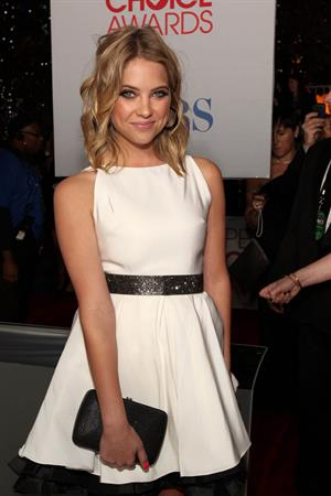 Ashley Benson 2012 Peoples Choice Awards on January 11, 2012