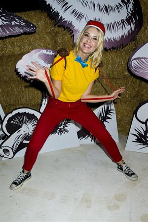 Ashley Benson 2012 Just Jared Halloween party in Hollywood 10/27/12