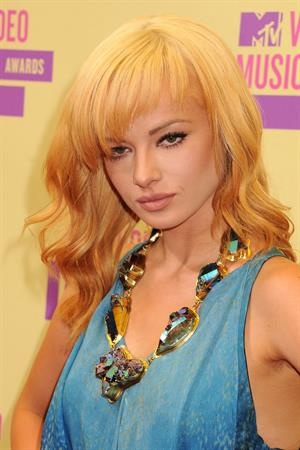 Ashley Rickards 2012 MTV Video Music Awards, Sep 6, 2012