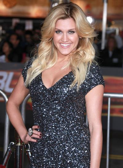 Ashley Roberts world premiere of Unstoppable in Los Angeles, California on October 26, 2010