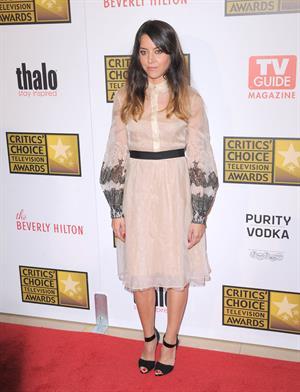 Aubrey Plaza - 2nd Annual Critics Choice Awards in Beverly Hills (June 18, 2012)