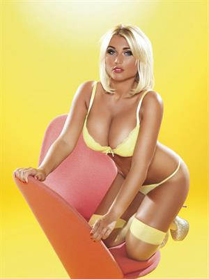 Billie Faiers Lingerie Photoshoot for Nuts UK - 10