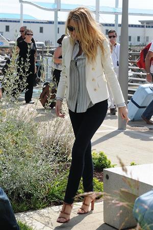 Blake Lively - Venice International Airport - September 2,2012