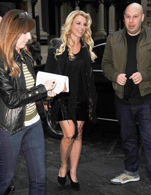 Britney Spears in London 10/14/13