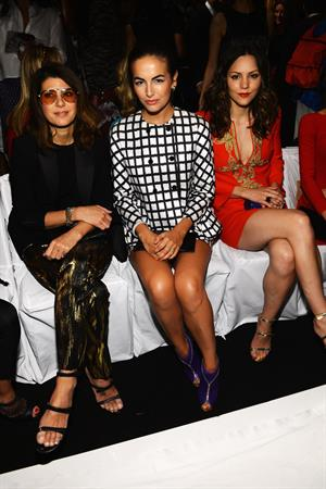 Camilla Belle - Michael Kors Spring 2013 Fashion Show in New York - September 12, 2012