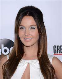 Camilla Luddington attends  Grey's Anatomy  200th Episode Celebration, September 28, 2013