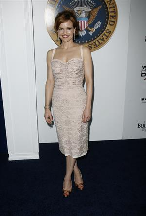 Carla Gugino  White House Down  New York Premiere on June 25, 2013