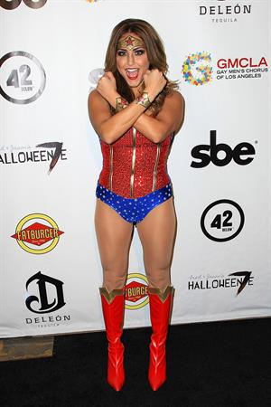 Cassie Scerbo - Halloweenie Charity Event 10/26/12