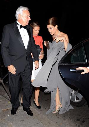 Charlotte Casiraghi Attends 'Cartier Ehibition' Gala Presentation in Madrid (Oct 22, 2012)