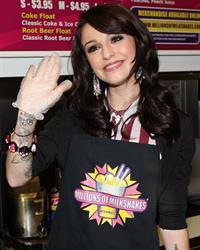 Cher Lloyd - Launches her Shake at Millions of Milkshakes, LA - August 1, 2012
