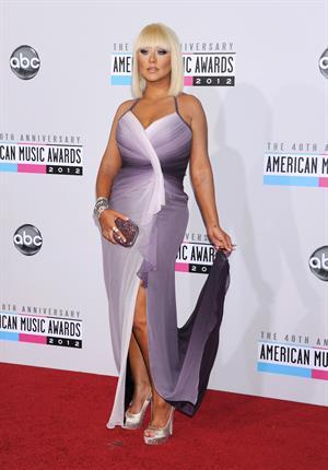 Christina Aguilera American Music Awards (November 18, 2012)