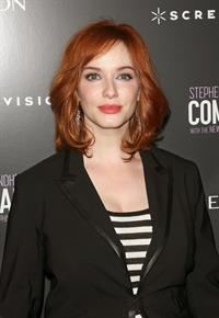 Christina Hendricks Company premiere in New York on June 8, 2011