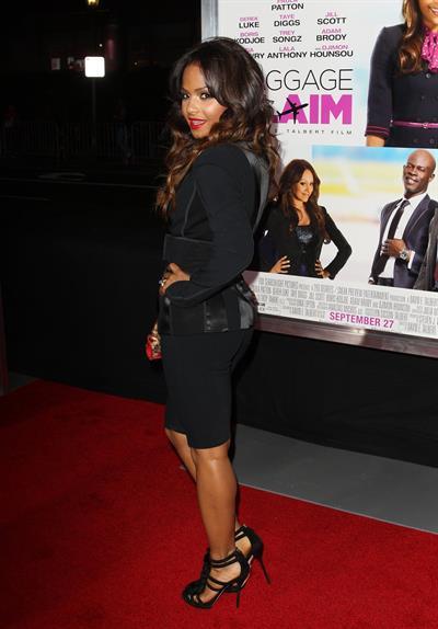Christina Milian  Baggage Claim  - Los Angeles Premiere on September 25, 2013