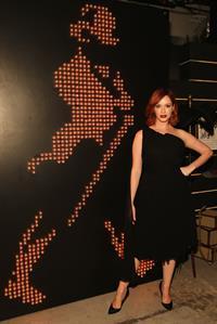 Christina Hendricks The Launch of Johnnie Walker Platinum, October 2, 2013