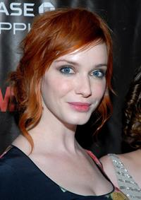 Christina Hendricks Mad Men Season 4 Finale screening at the 21 Club on October 17, 2010