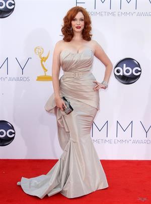 Christina Hendricks - 64th Primetime Emmys Nokia Theatre LA Sept 23 2012