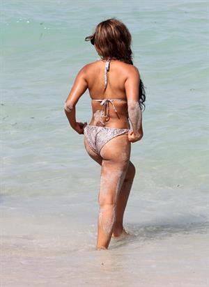Christina Milian - At the beach (bikini) - Miami Florida 19.07.12