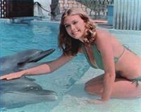 Colleen Camp in a bikini