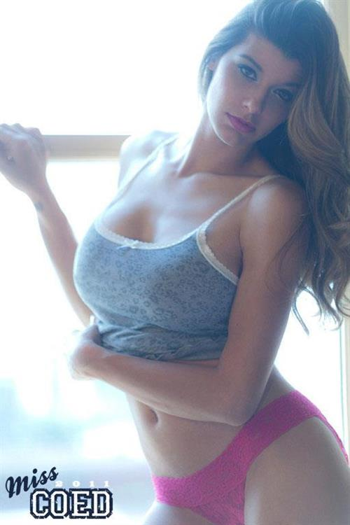 Ashley Salazar in lingerie