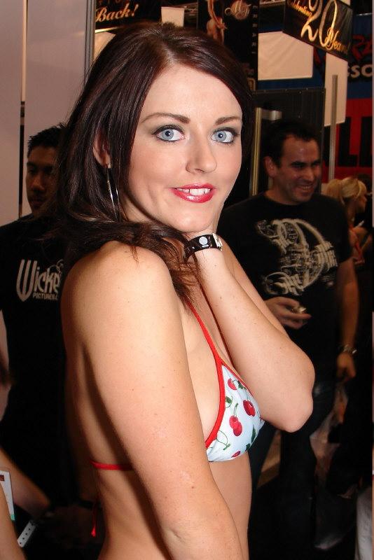 Sophie Dee in a bikini