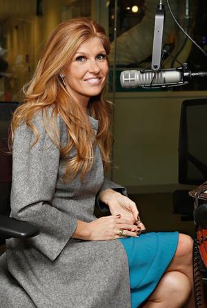 Connie Britton Visits SiriusM Studio, October 9, 2012