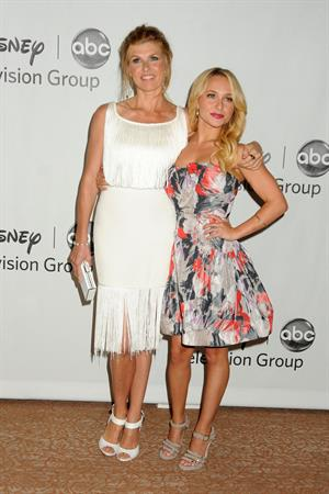 Connie Britton - 2012 TCA Summer Press Tour - Disney ABC Television Group Party (July 27, 2012)