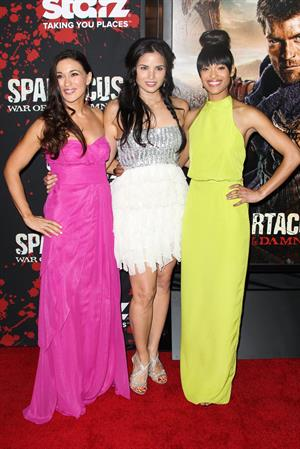 Cynthia Addai-Robinson Spartacus War of the Damned Los Angeles Premiere January 22, 2013