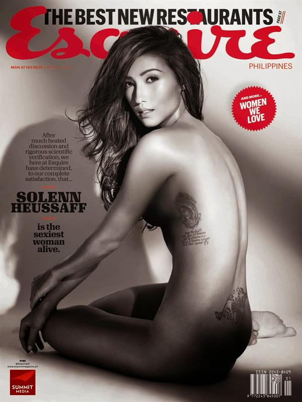 Solenn Heussaff cover of Esquire Philippines