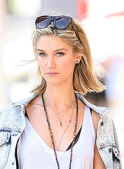 Delta Goodrem - in L.A. - 10.04 2013