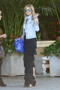 Delta Goodrem arrives at the Four Seasons Hotel Jan 21, 2013