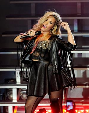 Demi Lovato - Performs LIVE at the Greek Theatre in Los Angeles (18 Jul 2012)