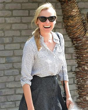 Diane Kruger Attends a Memorial Day Party Hosted by Joel Silver in LA on May 27, 2013