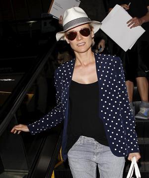 Diane Kruger Arrives At LAX