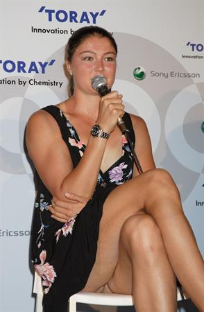 Dinara Safina Toray press conference Japan September 25, 2009