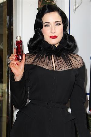Dita Von Teese - Fragrance Launch in LA 12/15/12