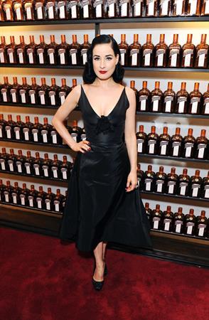 Dita Von Teese - Cointreau And Gotham Magazine In New York October 14, 2012
