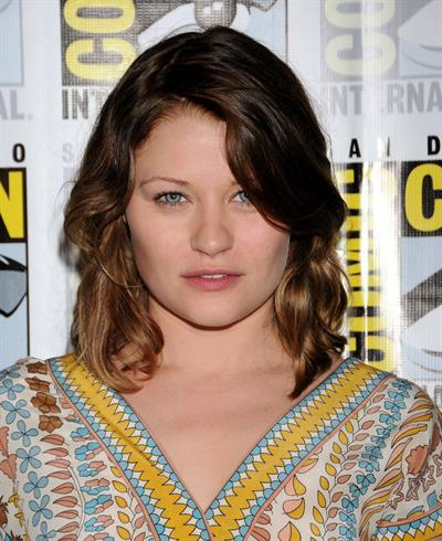 Emilie de Ravin at  Once Upon A Time  Press room at San Diego Comic-Con - July 14, 2012