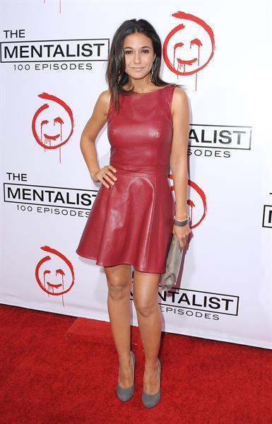 Emmanuelle Chriqui - The Mentalist 100th Episode Celebration At The Edison in LA - October 13, 2012