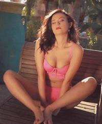 Alexandra Tyler in lingerie