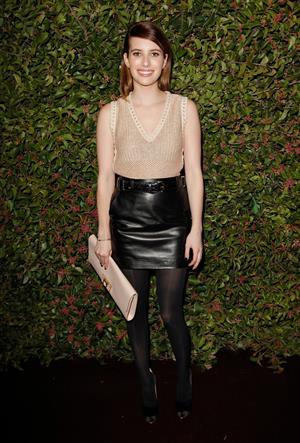 Emma Roberts - Ferragamo Presents S/S Collection 1/24/13