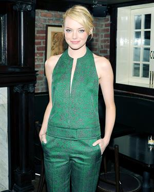 Emma Stone - Calvin Klein post-show dinner - September 13, 2012