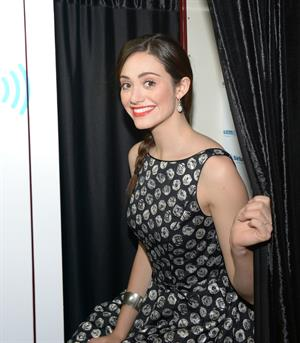 Emmy Rossum At the SiriusM Studios in NY - 01/16/2013