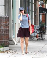 Emmy Rossum out and about in New York 10/20/12