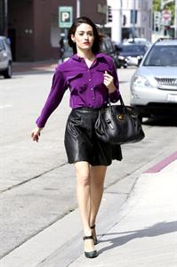 Emmy Rossum in Beverly Hills - October 5, 2012