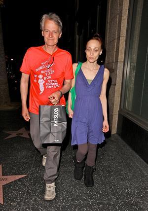 Fiona Apple - Leaving the Katsuya restuarant - Los Angeles, CA - July 30, 2012