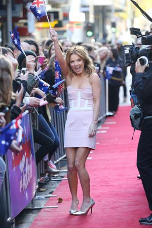 Geri Halliwell Arrives for Australia's Got Talent 02.06.13