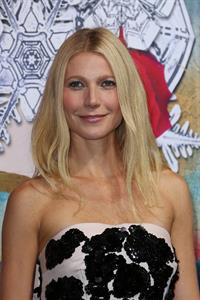 Gwyneth Paltrow Printemps Christmas Decorations Inauguration In Paris -- Nov. 7, 2013