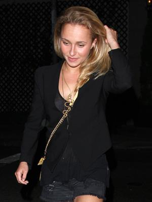 Hayden Panettiere leaving a Nightclub in Hollywood on July 26, 2013