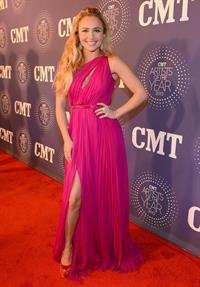 Hayden Panettiere Arrives at the CMT Artist Of The Year at The Factory on December 3, 2012